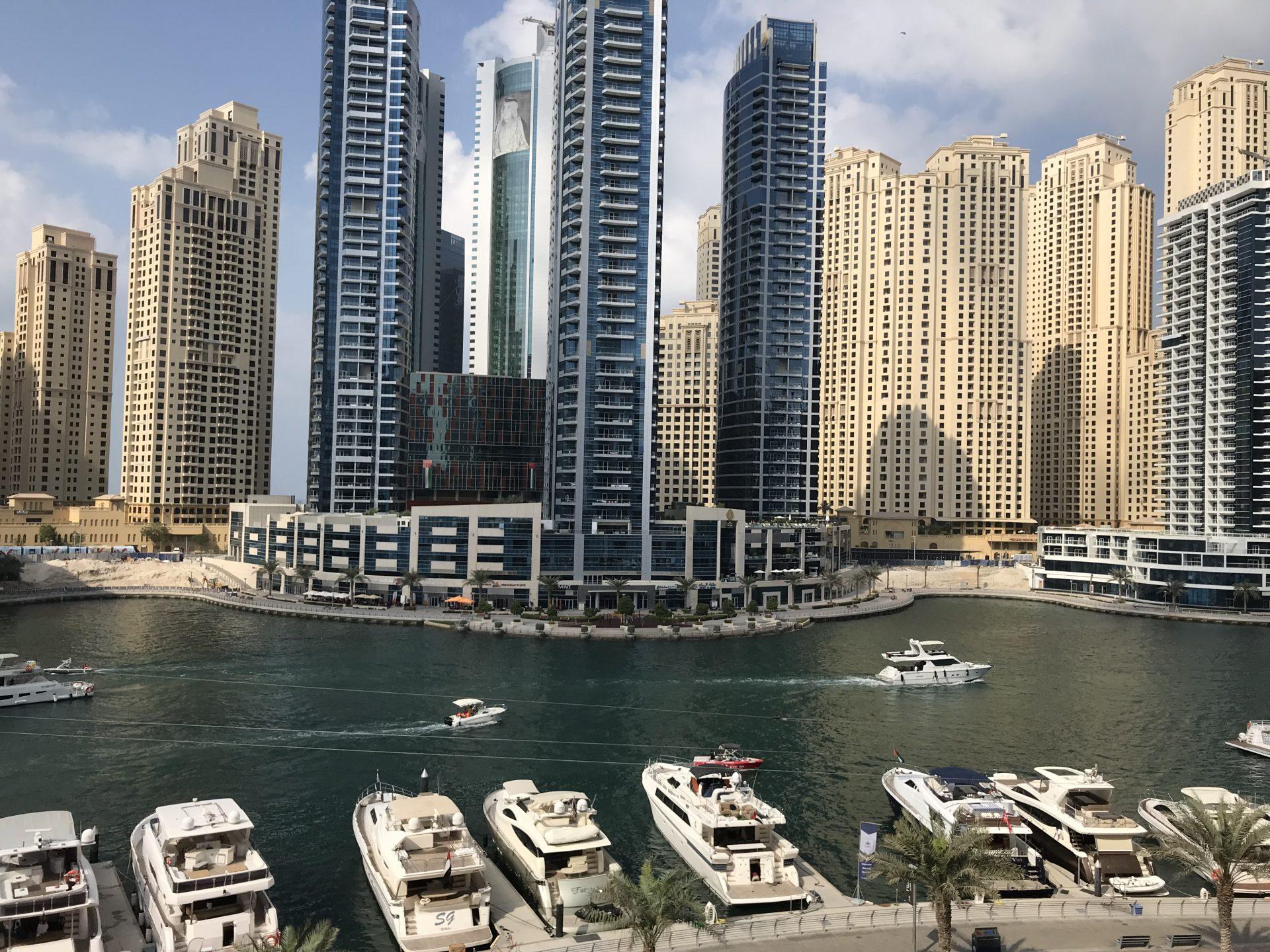 Co zwiedzać w Dubaju Marina