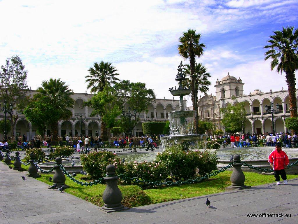 Białe miasto, czyli Arequipa
