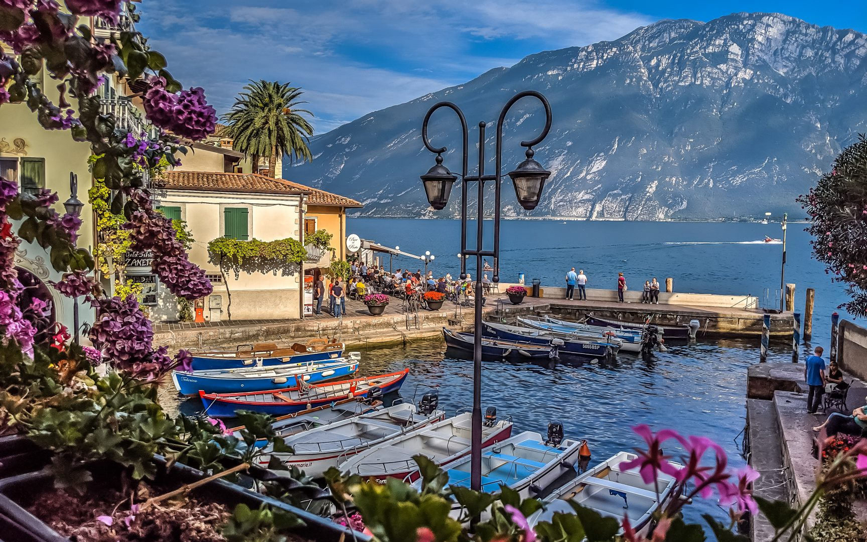 Jezioro Garda Limone sul Garda